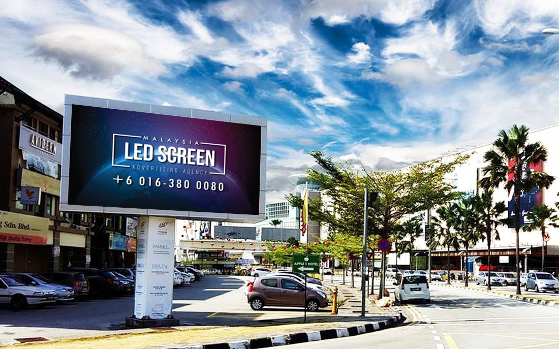 Penang LED Screen Advertising Agency LED Screen at Queensbay Bayan Lepas George Town Penang Malaysia