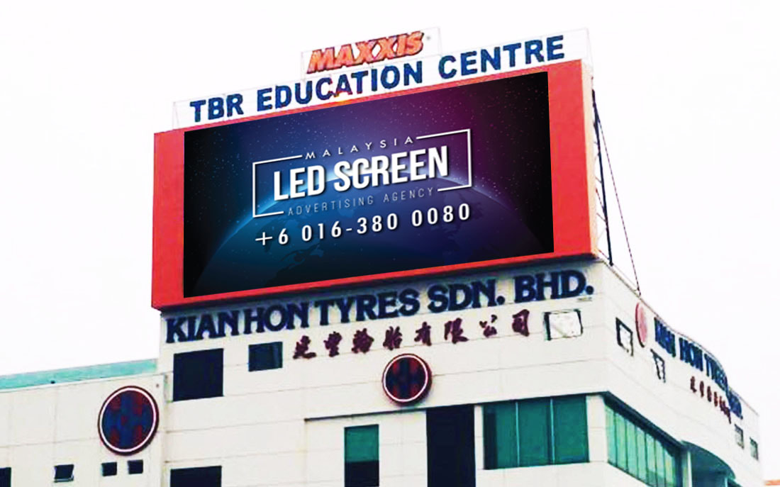 Penang LED Screen Advertising Agency LED Screen at Nibong Tebal Seberang Perai Penang Malaysia