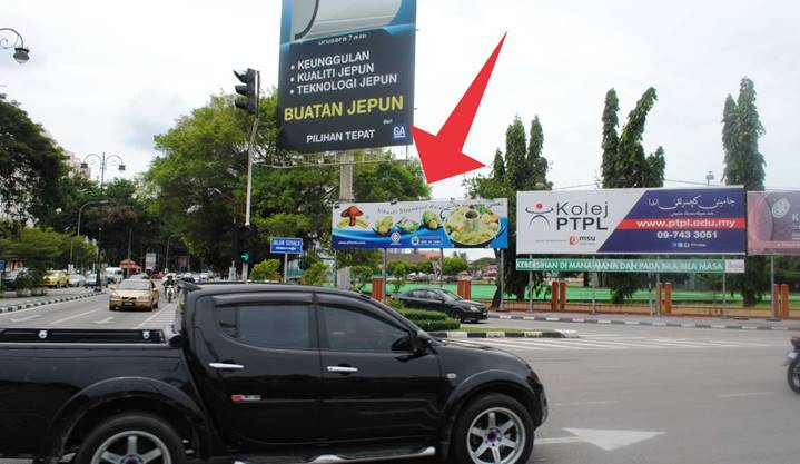 Simpang Empat Jalan Mahmod / Jalan Hospital Outdoor Billboard Advertising Agency, Outdoor Billboard Advertising Space for Rent, Outdoor Billboard Ads Slot to Let, Outdoor Billboard Advertisement Rental, Outdoor Billboard Advertising Agency, in Simpang Empat Jalan Mahmod / Jalan Hospital,