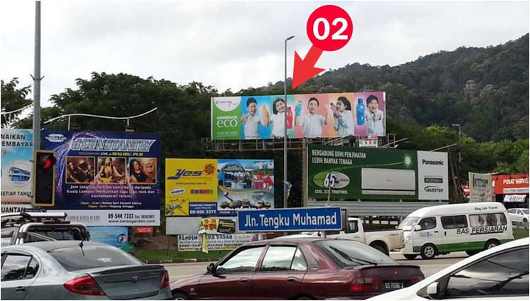 Jalan Beserah/Jalan Semambu, Kuantan Outdoor Billboard Advertising Agency, Outdoor Billboard Advertising Space for Rent, Outdoor Billboard Ads Slot to Let, Outdoor Billboard Advertisement Rental, Outdoor Billboard Advertising Agency, in Jalan Beserah/Jalan Semambu, Kuantan,