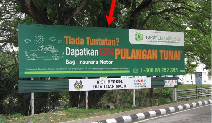 Jalan Kamaruddin Isa/Jalan Hospital Outdoor Billboard Advertising Agency, Outdoor Billboard Advertising Space for Rent, Outdoor Billboard Ads Slot to Let, Outdoor Billboard Advertisement Rental, Outdoor Billboard Advertising Agency, in Jalan Kamaruddin Isa/Jalan Hospital,