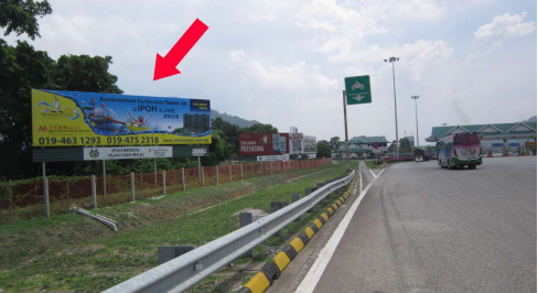 Ipoh Selatan Tol Plaza, Perak     Outdoor Billboard Advertising Agency, Outdoor Billboard Advertising Space for Rent, Outdoor Billboard Ads Slot to Let, Outdoor Billboard Advertisement Rental, Outdoor Billboard Advertising Agency, in Ipoh Selatan Tol Plaza, Perak    ,