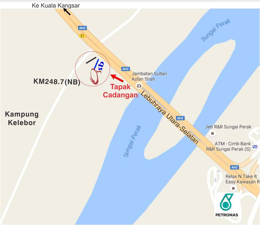 KM248.7(SB) Sungai Perak, Perak   Outdoor Billboard Advertising Agency, Outdoor Billboard Advertising Space for Rent, Outdoor Billboard Ads Slot to Let, Outdoor Billboard Advertisement Rental, Outdoor Billboard Advertising Agency, in KM248.7(SB) Sungai Perak, Perak