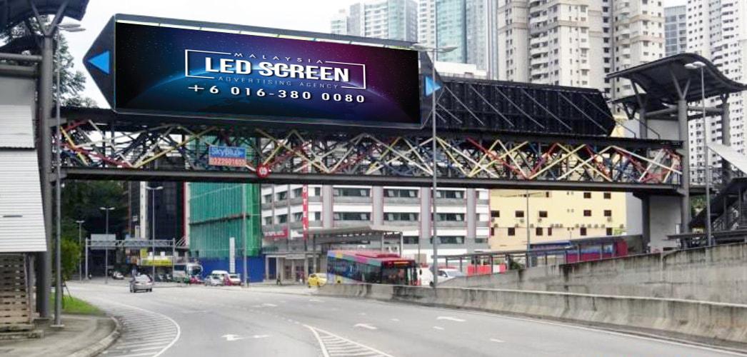 Kuala Lumpur LED Screen Advertising Agency LED Screen at Bukit Bintang, Jalan Pudu Kuala Lumpur Malaysia
