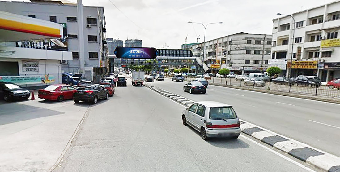 Kuala Lumpur LED Screen Advertising Agency LED Screen at Jalan Loke Yew Kuala Lumpur Malaysia