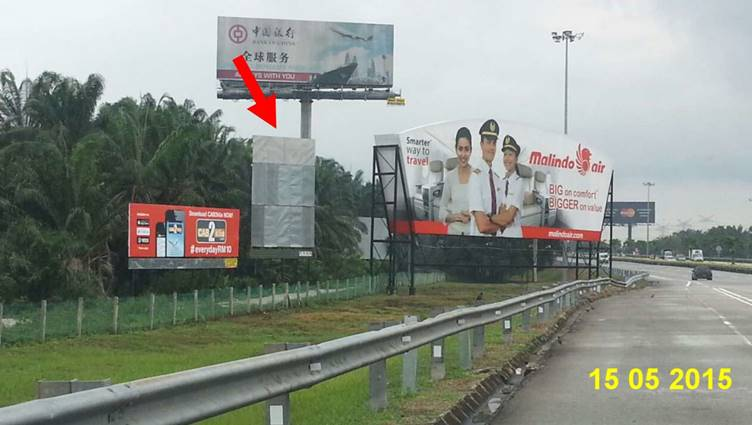 KMA2.5 (SB) KLIA Expressway, Selangor Outdoor Billboard Advertising Agency, Outdoor Billboard Advertising Space for Rent, Outdoor Billboard Ads Slot to Let, Outdoor Billboard Advertisement Rental, Outdoor Billboard Advertising Agency, in KMA2.5 (SB) KLIA Expressway, Selangor,