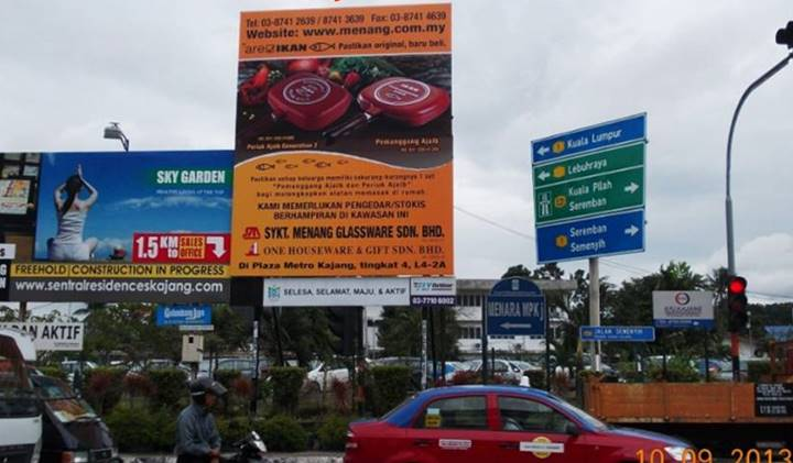 Jalan Semenyih, Pusat Bandar Kajang, Selangor Outdoor Billboard Advertising Agency, Outdoor Billboard Advertising Space for Rent, Outdoor Billboard Ads Slot to Let, Outdoor Billboard Advertisement Rental, Outdoor Billboard Advertising Agency, in Jalan Semenyih, Pusat Bandar Kajang, Selangor,