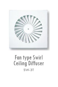Fan Type Swirl Ceiling Diffuser 2, Manufacturing, Sunshades, Grilles, Diffusers, Flexible Air Duct, Ceiling Diffusers, Supply Air Grilles, Louvers, Jet Diffusers