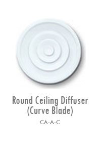 Round Ceiling Diffuser (Curve Blade), Manufacturing, Sunshades, Grilles, Diffusers, Flexible Air Duct, Ceiling Diffusers, Supply Air Grilles, Louvers, Jet Diffusers