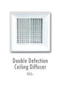 Double Deflection Ceiling Diffuser, Manufacturing, Sunshades, Grilles, Diffusers, Flexible Air Duct, Ceiling Diffusers, Supply Air Grilles, Louvers, Jet Diffusers