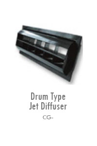 Drum Type Jet Diffuser, Manufacturing, Sunshades, Grilles, Diffusers, Flexible Air Duct, Ceiling Diffusers, Supply Air Grilles, Louvers, Jet Diffusers, Floor Diffusers