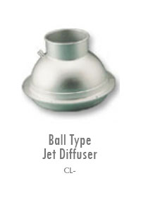Ball Type Jet Diffuser 2, Manufacturing, Sunshades, Grilles, Diffusers, Flexible Air Duct, Ceiling Diffusers, Supply Air Grilles, Louvers, Jet Diffusers, Floor Diffusers