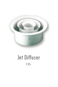 Jet Diffuser 2, Manufacturing, Sunshades, Grilles, Diffusers, Flexible Air Duct, Ceiling Diffusers, Supply Air Grilles, Louvers, Jet Diffusers, Floor Diffusers, Dampers