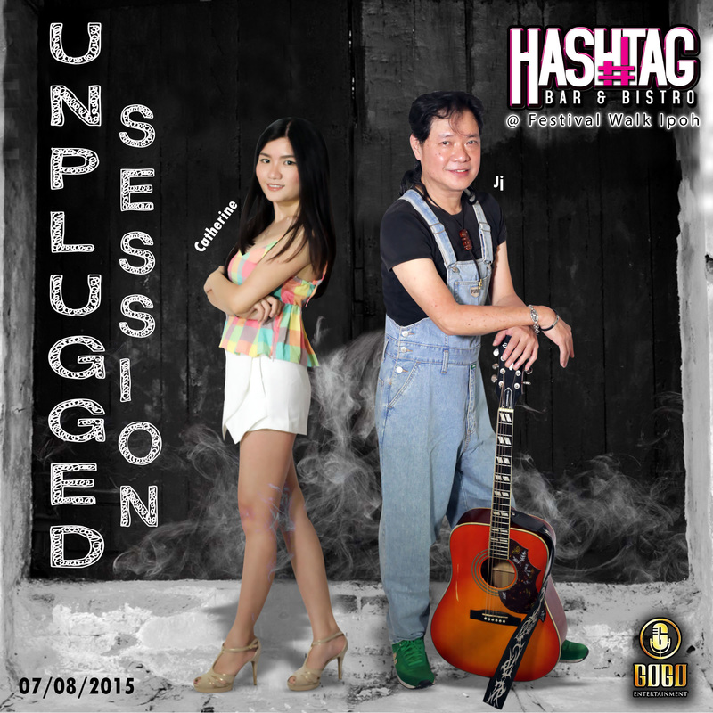 Unplugged Session 20150807, HASHTAG Bar & Bistro, Ipoh Festival Walk, Pub, Entertainment, Night Life, Lounge, Ipoh, Perak, Malaysia