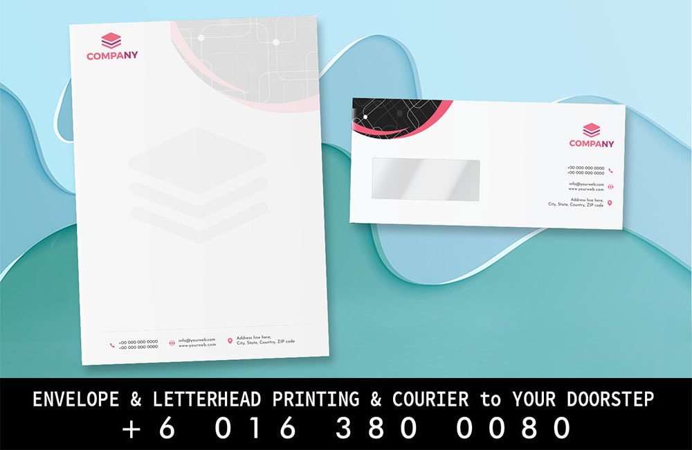Butterworth Print Envelope Letterhead Printing to Butterworth