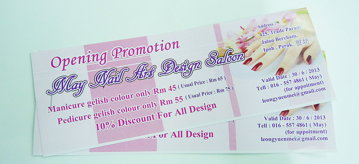 KL Kuala Lumpur Event Ticket, Discount Voucher, Promotion Coupon, Printing Service, Print Shop