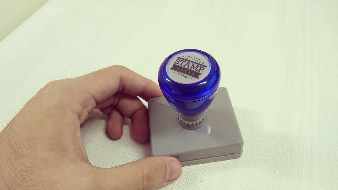 KL Kuala Lumpur Pre-inked Stamp, Flash Stamp, Rubber Stamp, Custom Made & Delivery Service