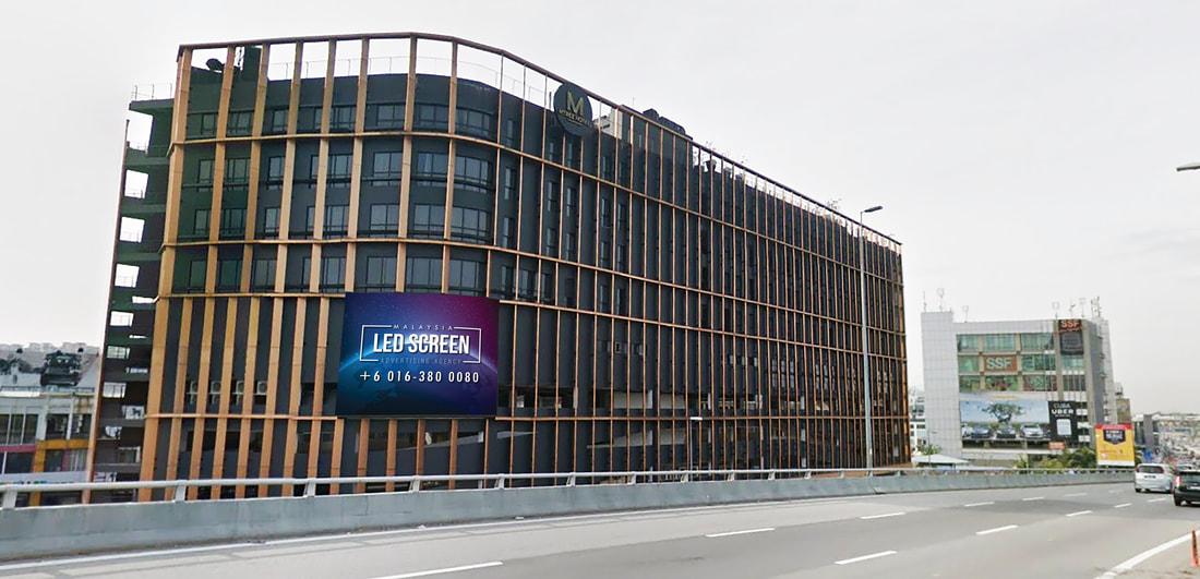 Puchong LED Screen Advertising Agency LED Screen at Mtree Hotel Puchong Malaysia