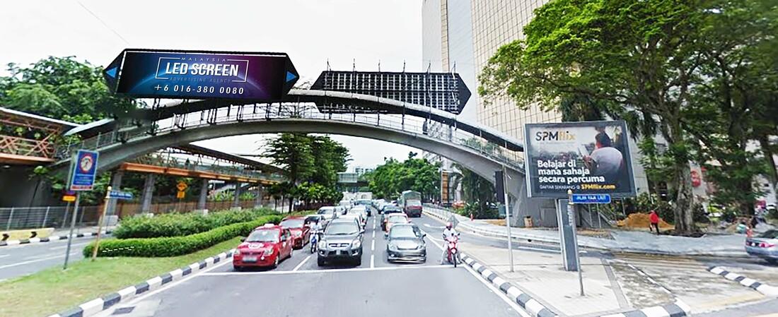 Kuala Lumpur LED Screen Advertising Agency LED Screen at Jalan Sultan Ismail Kuala Lumpur Malaysia